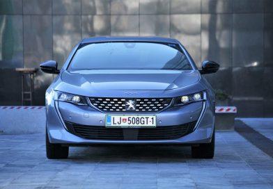 Slovenska premiera: Peugeot 508
