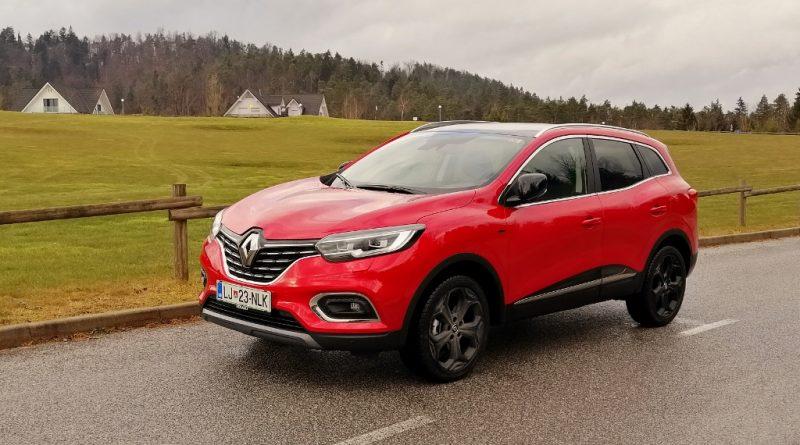 Renault je posodobil Kadjarja