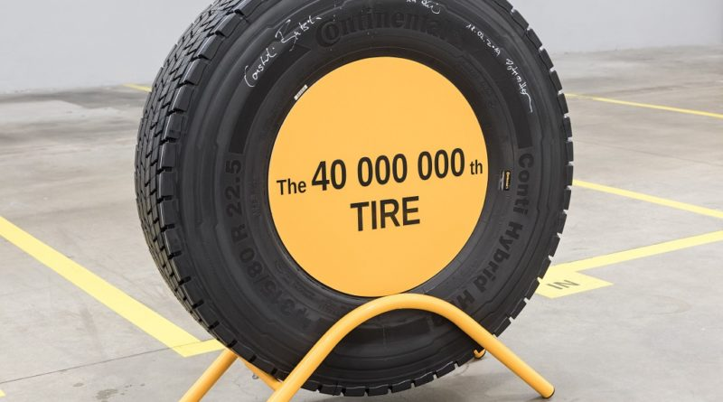 40 milijonov pnevmatik