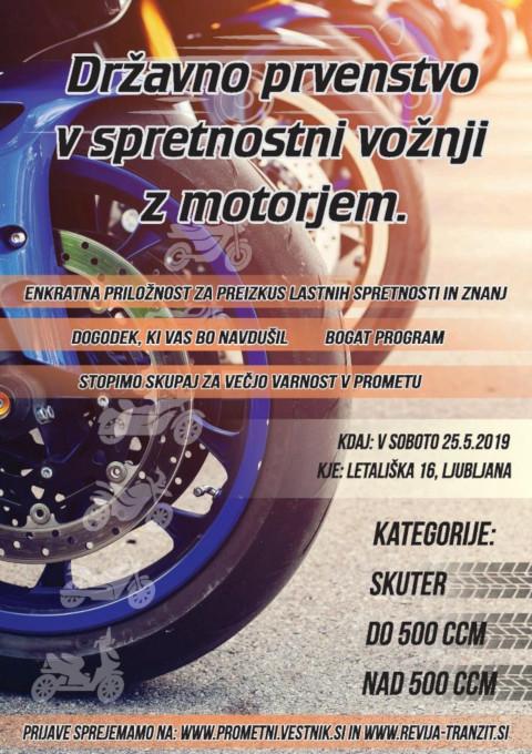 državno prvenstvo v spretnostni vožnji z motorjem