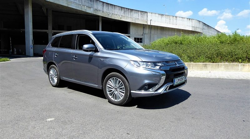 Mitsubishijev plug-in hibrid