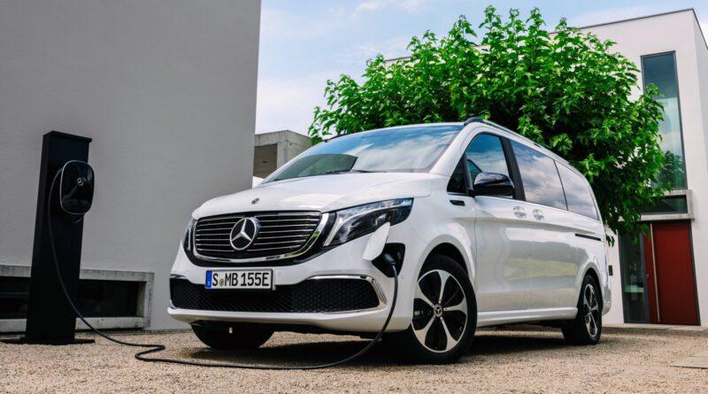 Premium električni enoprostorec Mercedes-Benz EQ