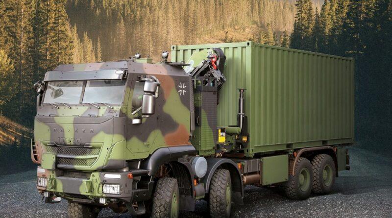 Iveco Defense Vehicles dobavlja nemški vojski tretjo generacijo oklepnih bojnih tovornjakov GTF 8×8