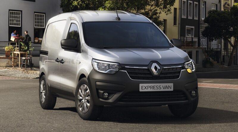 Renault v ponudbo dostavnikov uvaja novi express van
