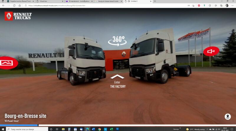 Virtualni sprehod po tovarni Renault Trucks