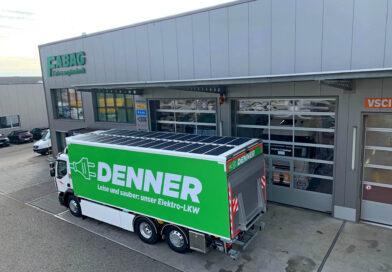 Reanult Trucks D Wide Z.E. s solarnimi paneli