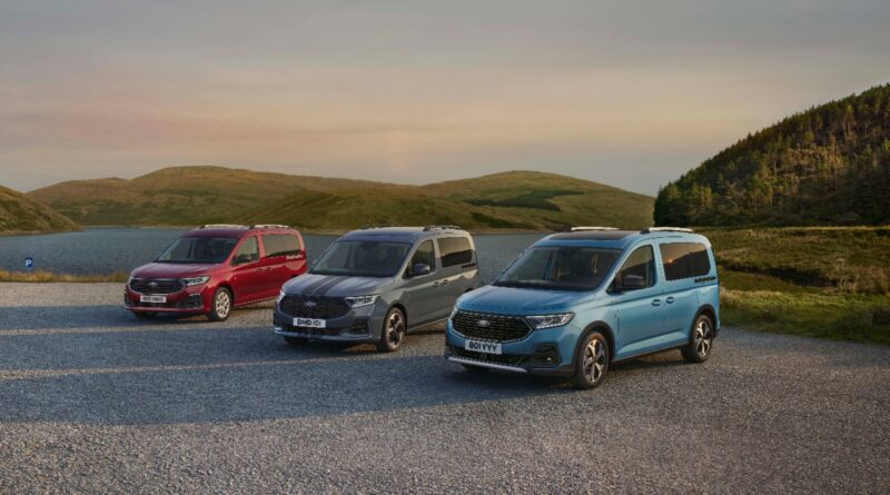 Ford predstavlja povsem nov model Tourneo Connect